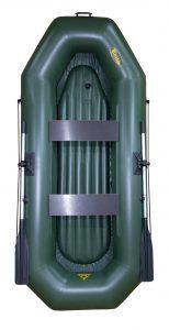 Лодка ПВХ Инзер 2 (270) НД надувная гребная