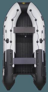 Лодка ПВХ Ривьера 3600 НДНД надувное дно низкого давлени