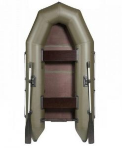 Лодка ПВХ Лоцман М-270 ЖС надувная под мотор
