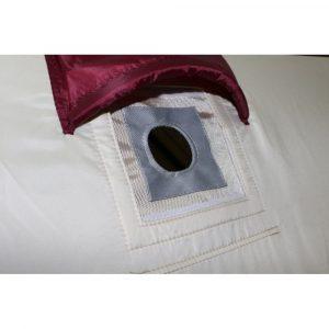 Термо-накладка на окно для зимней палатки (под трубу диаметром 50мм)