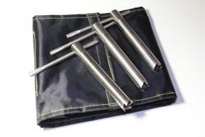 Фото Ввертыши в чехле (комплект 6 шт, подвижная ручка 16х1,5х130)